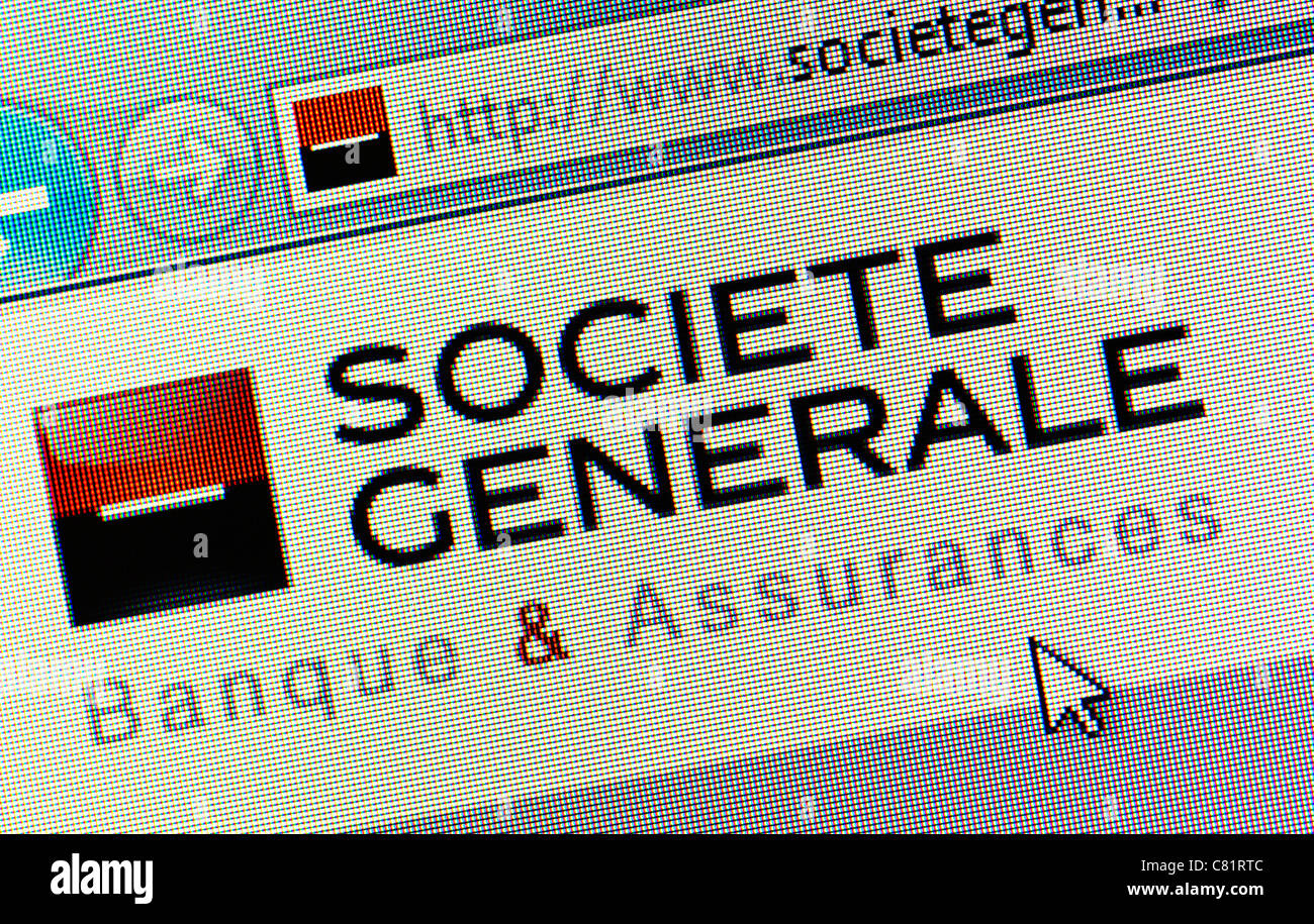 societe generale logo stock photos societe generale logo stock images alamy. Black Bedroom Furniture Sets. Home Design Ideas