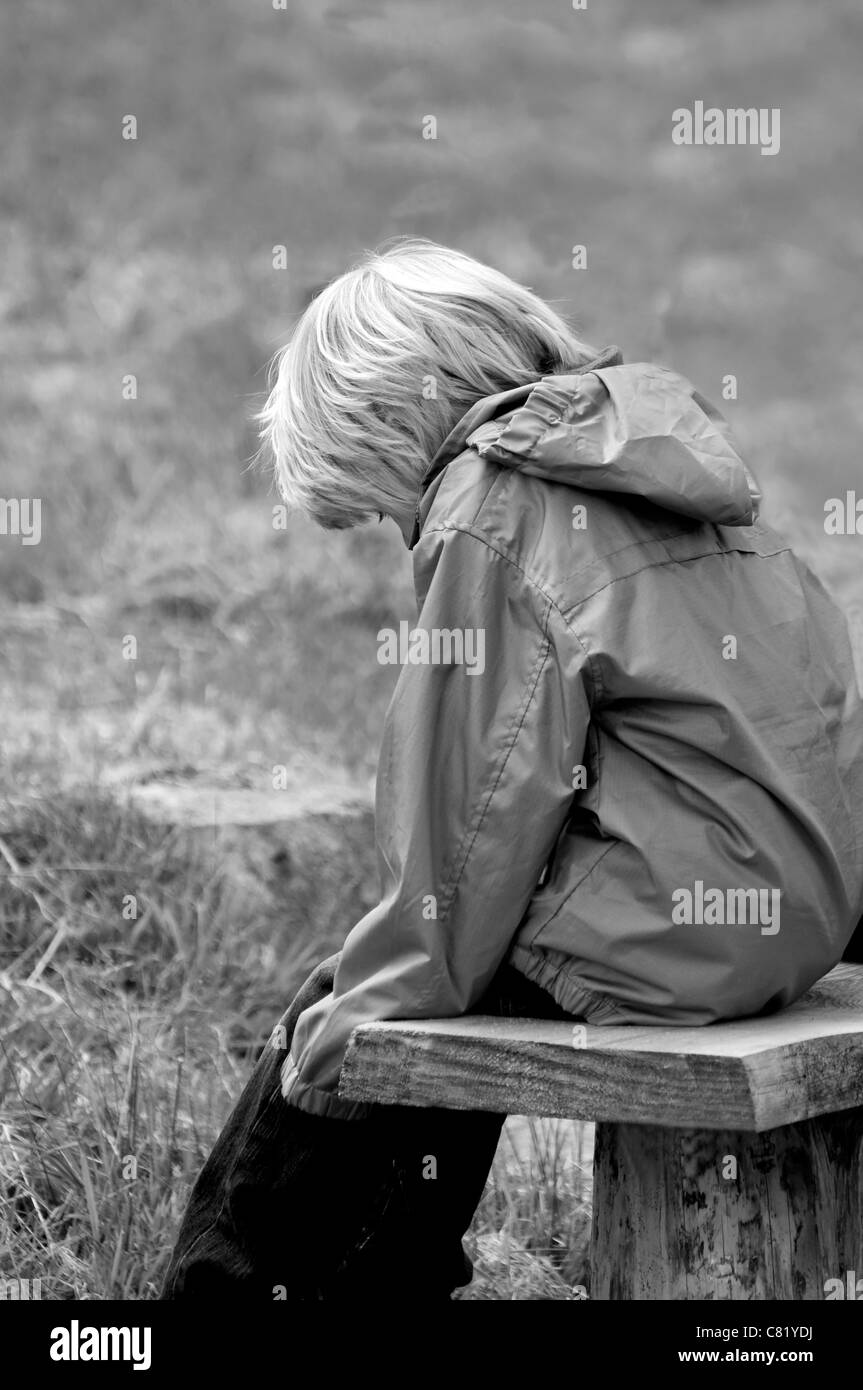 Lonely - Stock Image