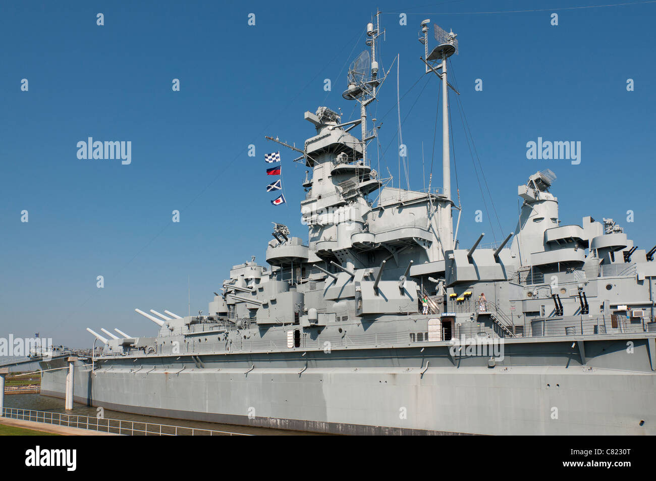 Alabama, Mobile, USS Alabama Battleship Memorial Park, in service 1943-47 -