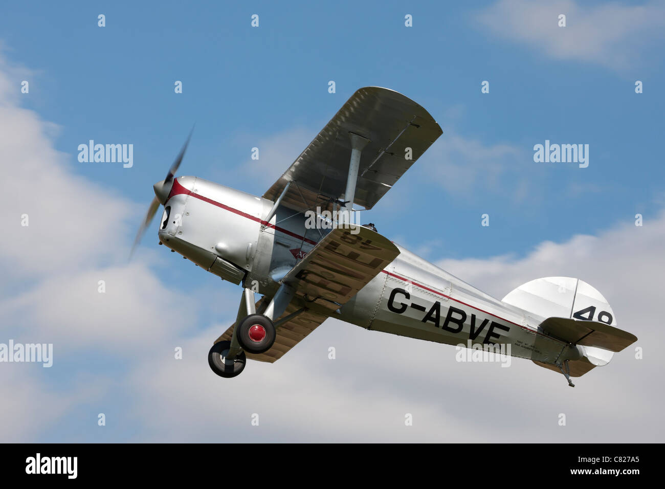 Arrow Active MKII G-ABVE 48 in flight - Stock Image