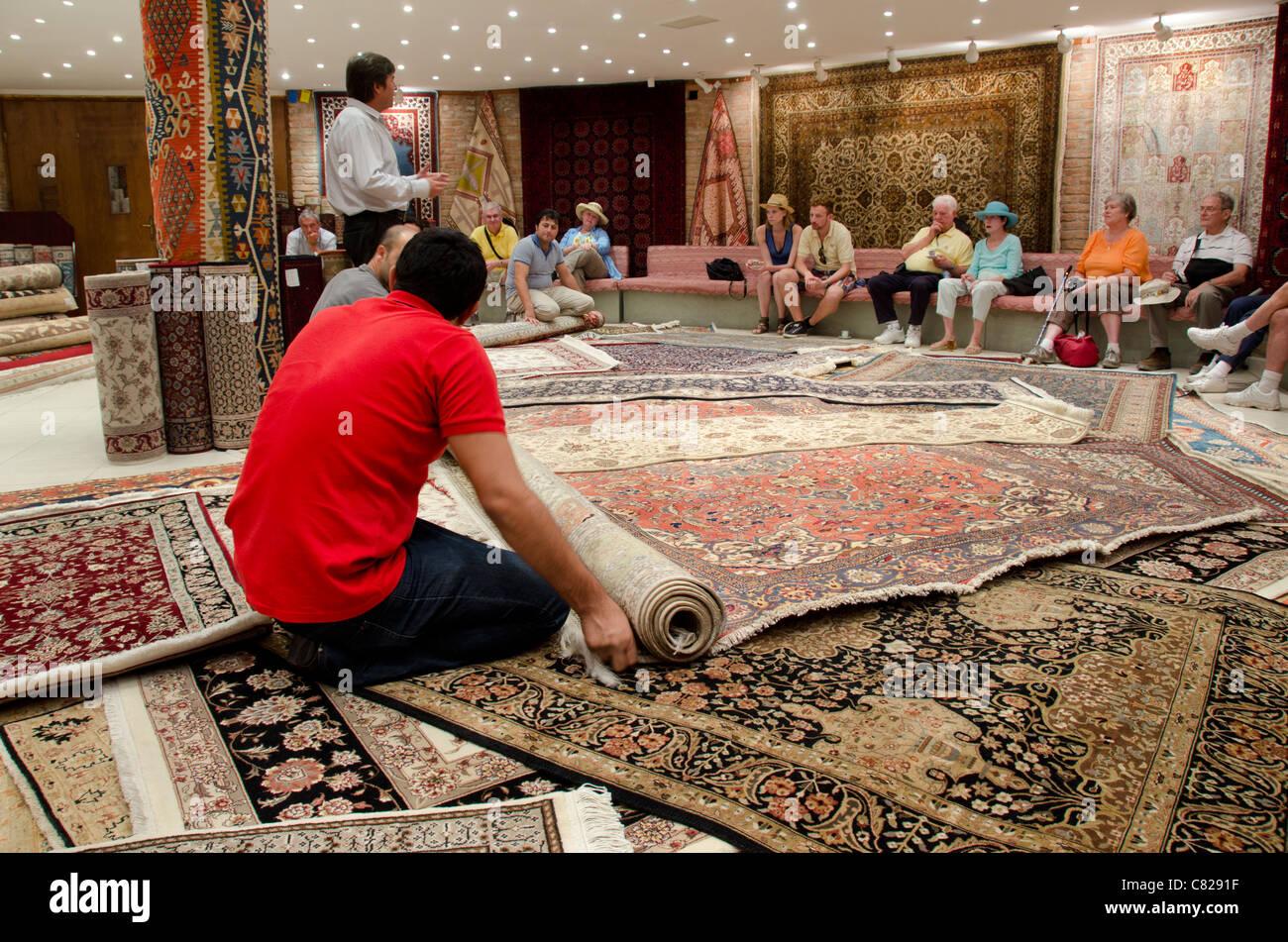 Turkish Carpet Workshop Showroom