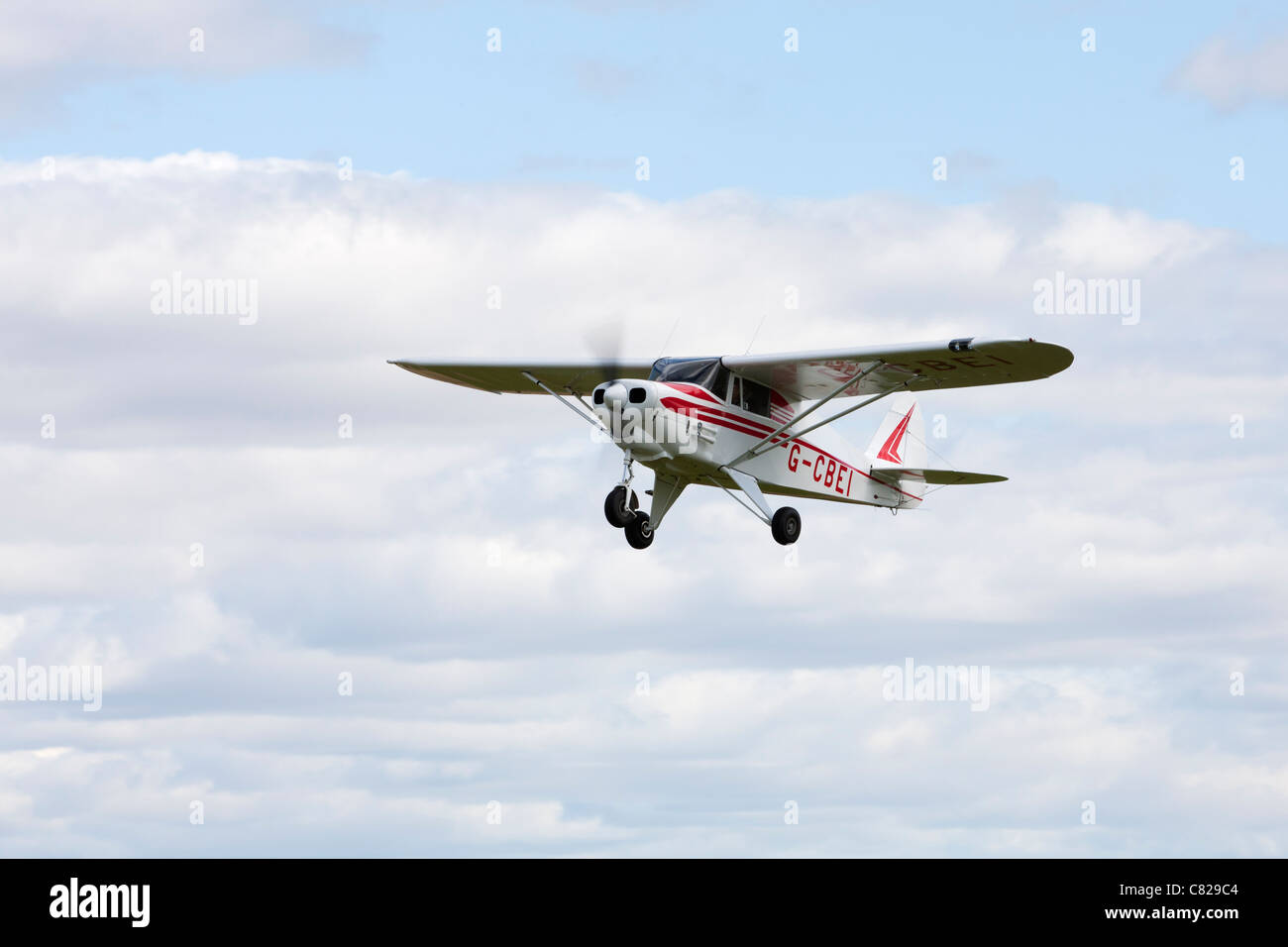 Piper PA-22-108 Colt G-CBEI in flight Stock Photo: 39389284 - Alamy