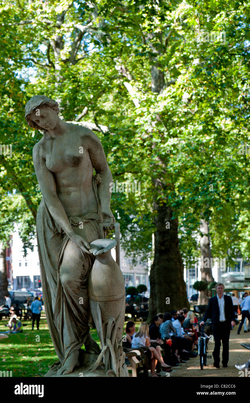 Berkeley Square, W1, London, United Kingdom - Stock Image