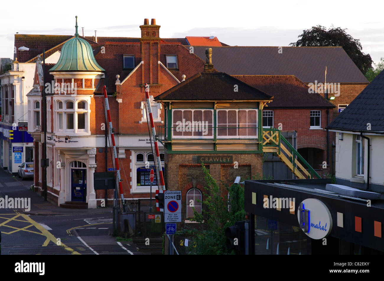 Crawley 'old' Station - Stock Image