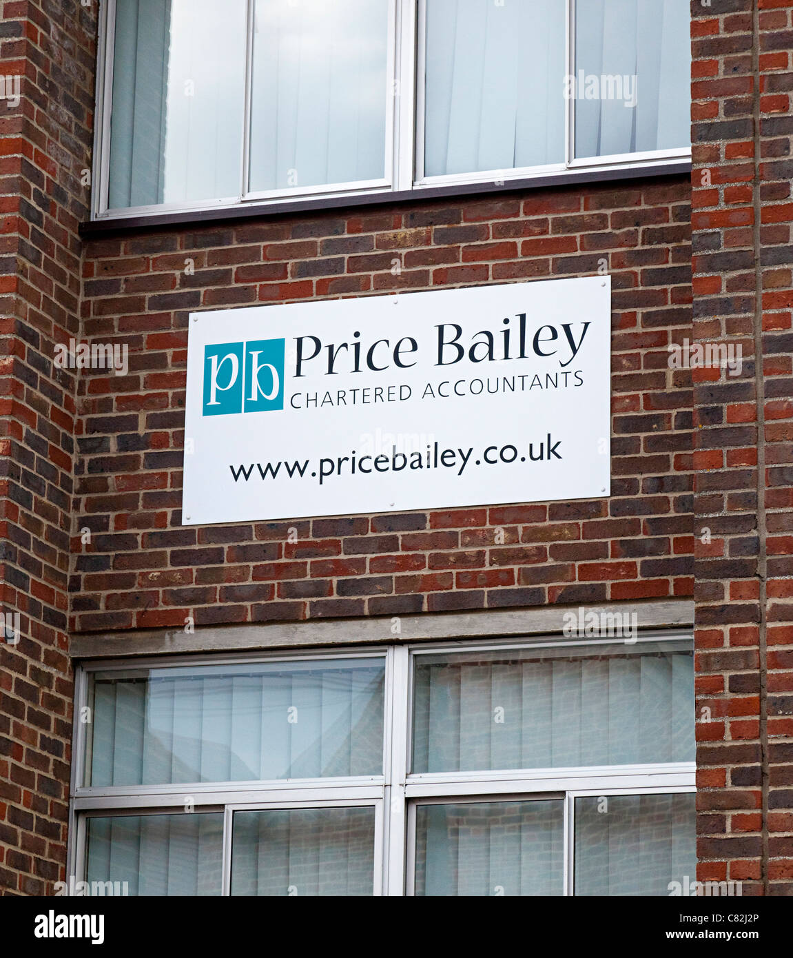 Price Bailey charted accountants, UK - Stock Image