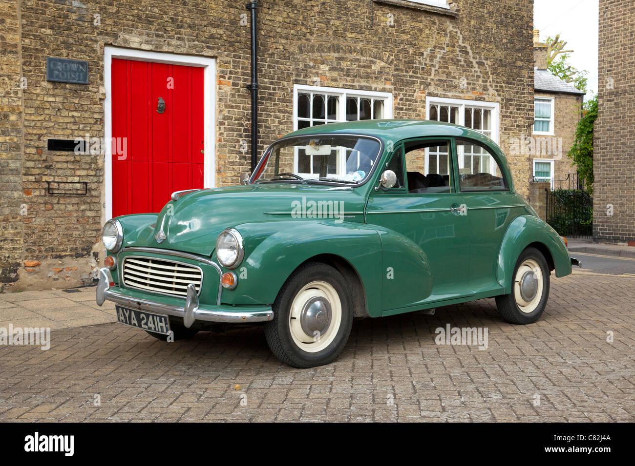 Morris Minor car in the UK - Stock Image