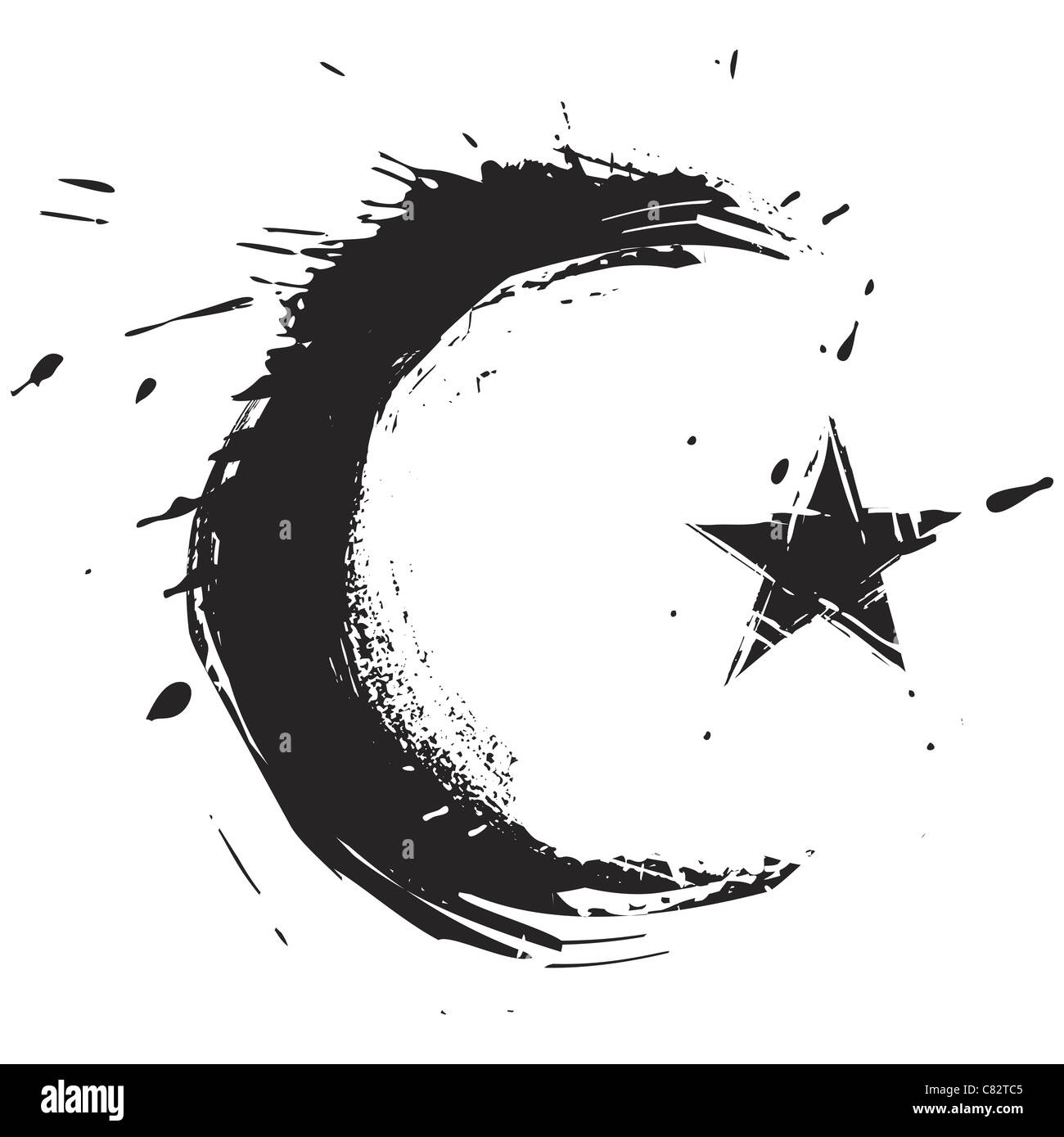 Muslim Protection Symbol Cut Out Stock Images Pictures Alamy