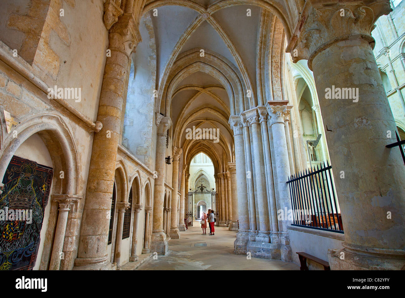 France, Provins, Saint Quiriace Collegiate church - Stock Image