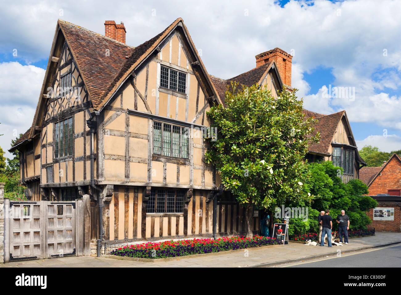 Hall's Croft (home of Shakespeare's daughter, Susanna Hall), Stratford-upon-Avon, Warwickshire, England, - Stock Image