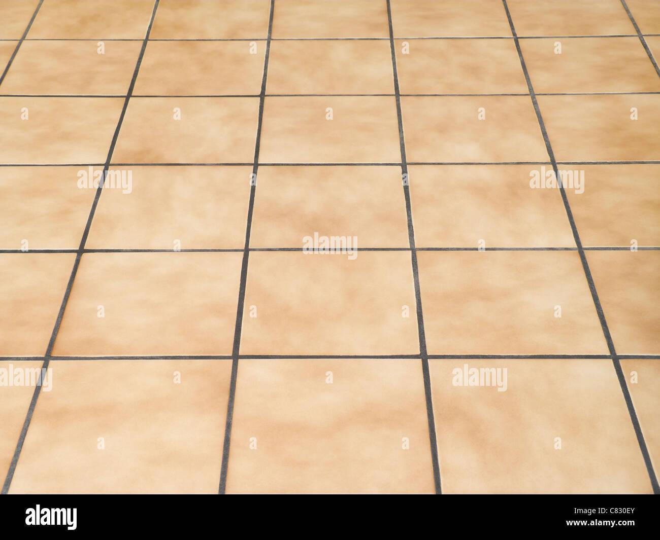 Ceramic Floor Tiles - Stock Image