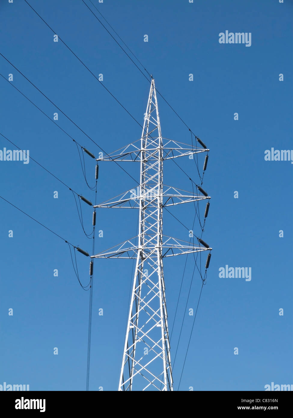 Power Transmission Tower High Resolution Stock Photography And Images Alamy