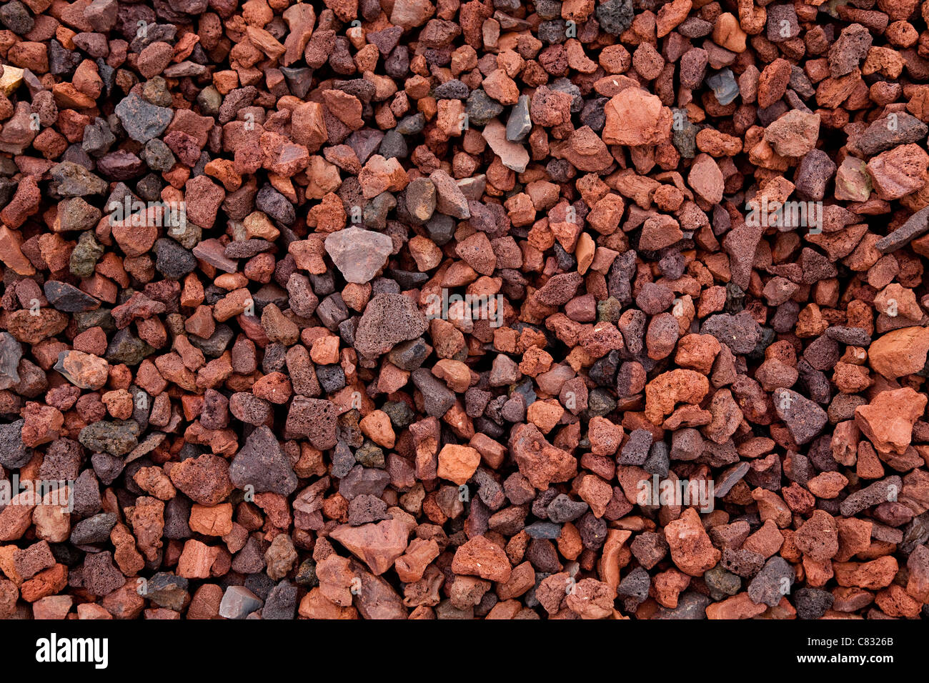Lava Rock for Textured Background - Stock Image