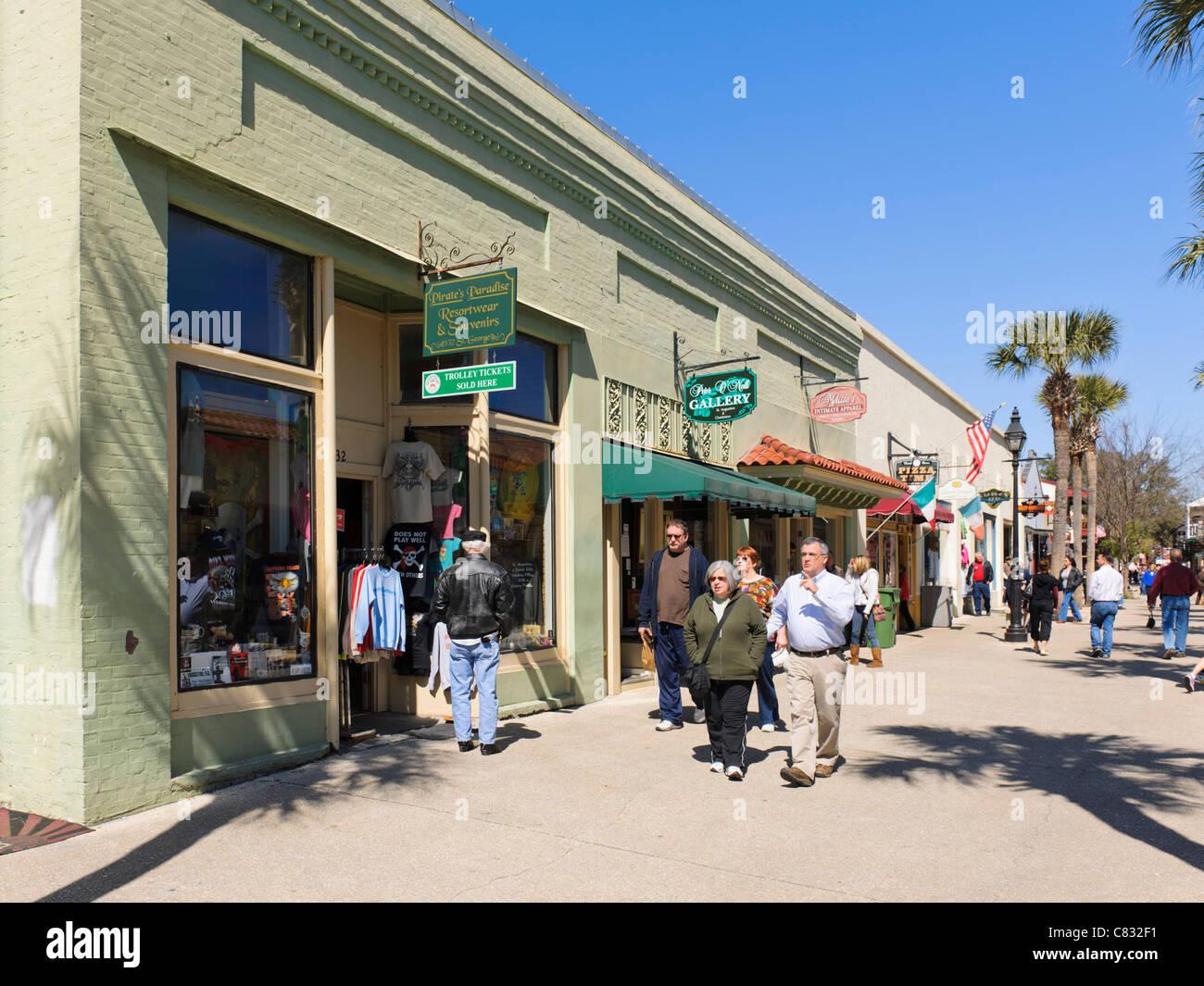 St George Street, St Augustine - Stock Image