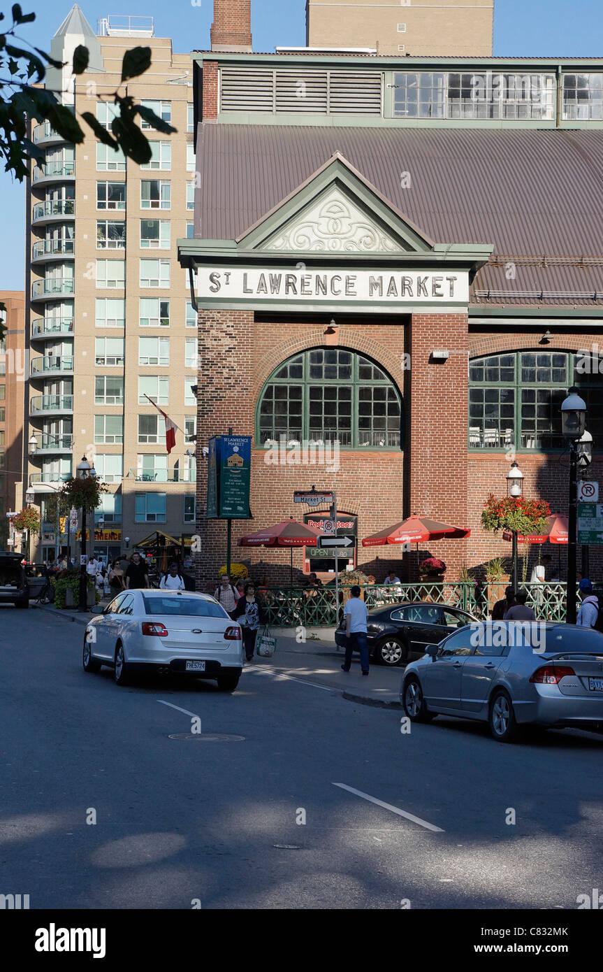 St. Lawrence Market, Toronto - Stock Image