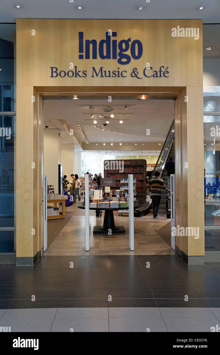 Indigo Bookstore Shop, Toronto, Canada - Stock Image