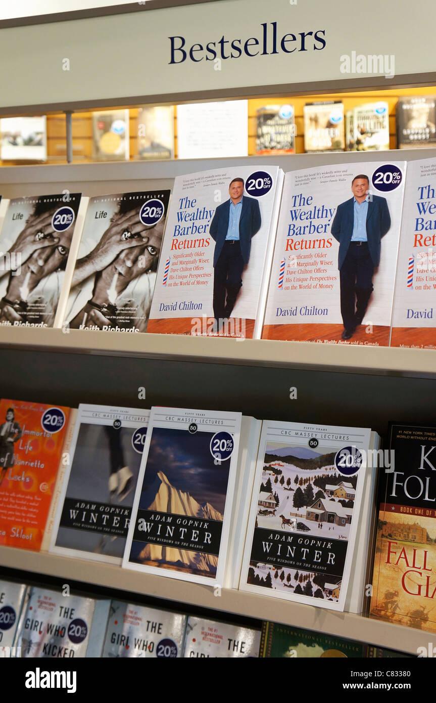 Bestsellers, Best Selling Books - Stock Image
