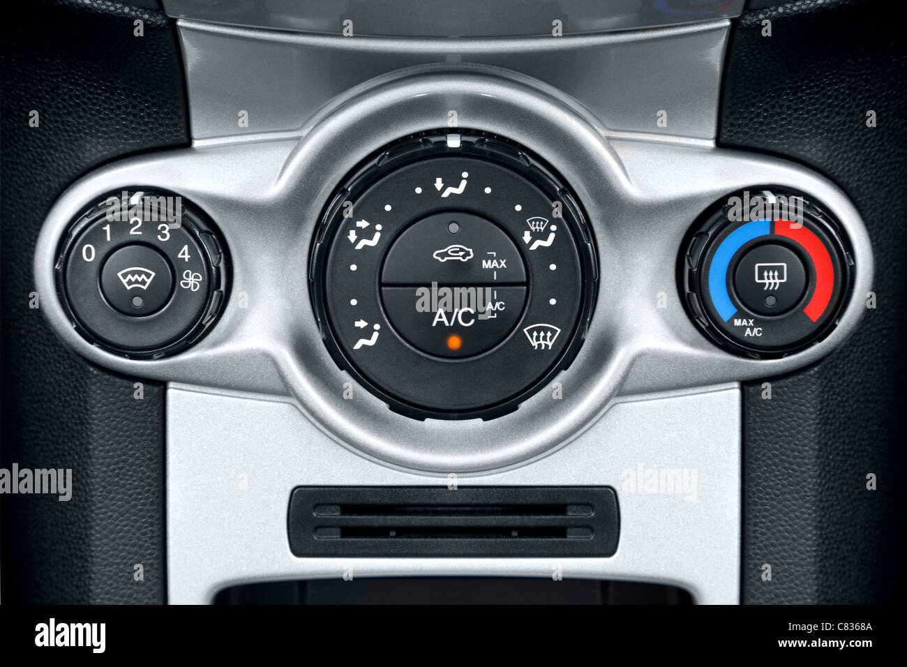 Air Conditioning Switch Stock Photos Mitsubishi Thermostat Controller Photo Of The Controls On A Cars Dashboard Image