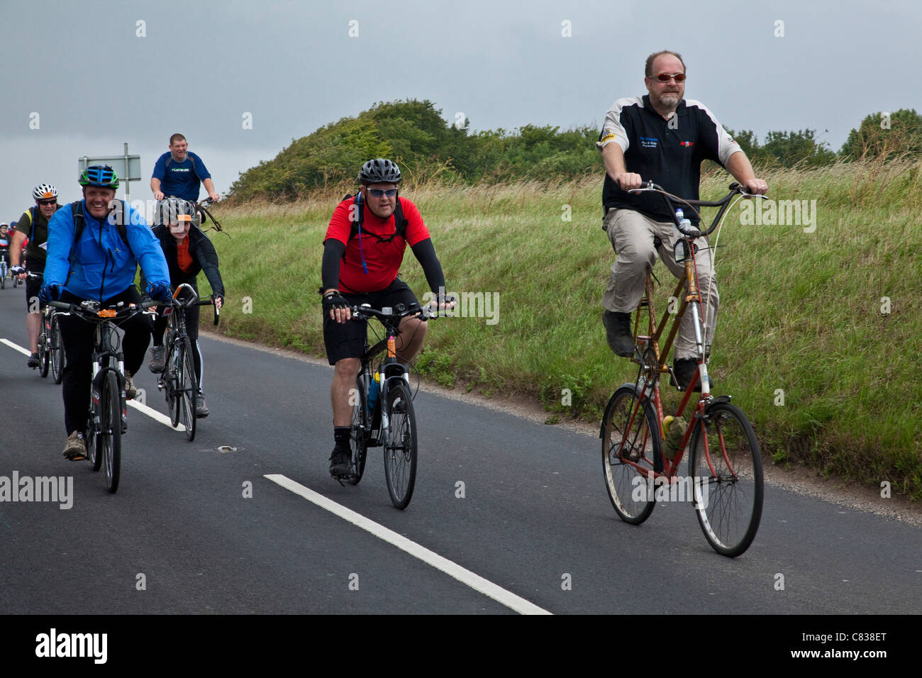 London To Brighton Cycle 2017 >> London To Brighton Bike Ride Stock Photo 39410528 Alamy