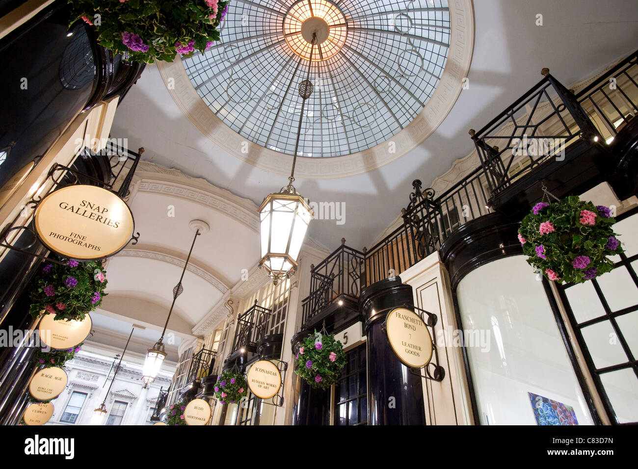 Piccadilly Arcade, London, England - Stock Image