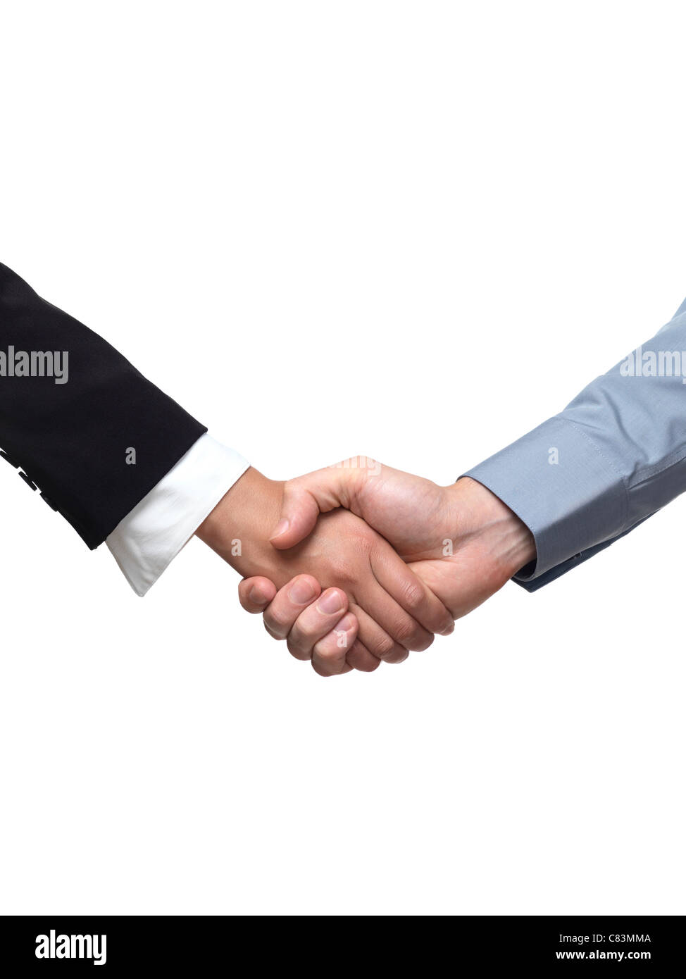 two people shaking hands cut out stock photos two people shaking