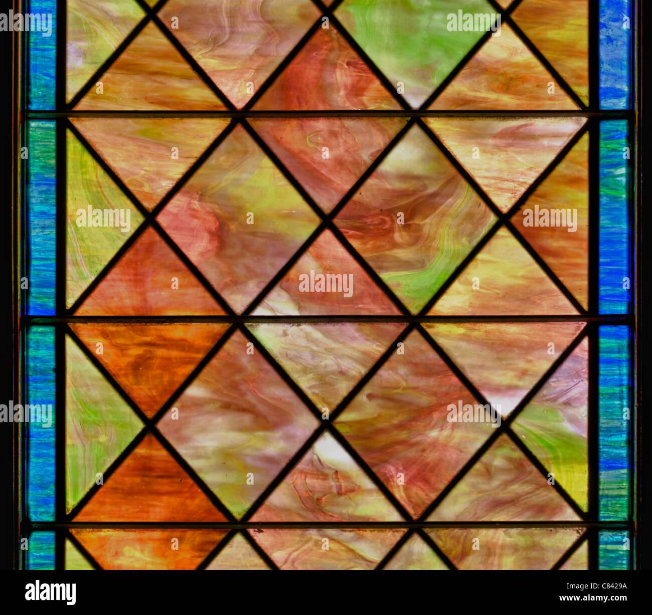 brown colour window glass