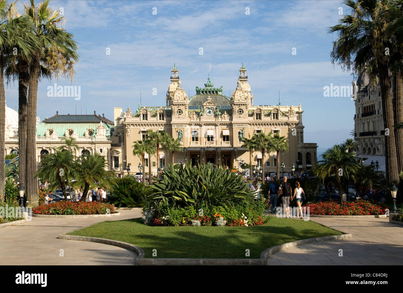 Monaco, Casino, Cote d'Azur Stock Photo