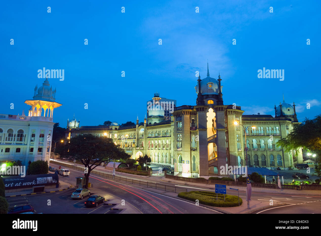 Old KL Railway Station, Kuala Lumpur, Malaysia, South East Asia - Stock Image