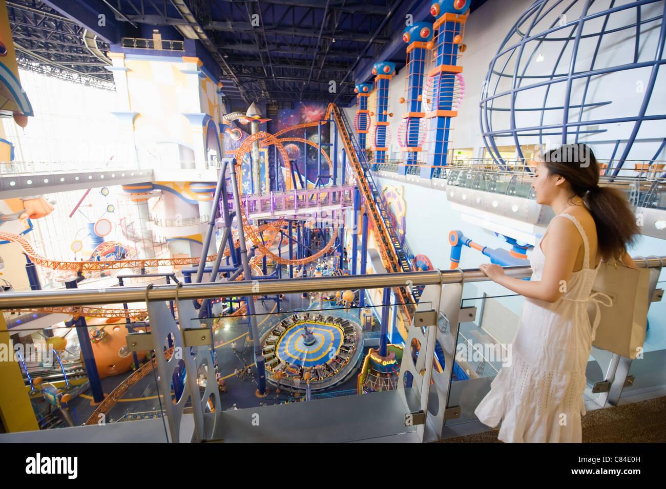 Malaysia kuala lumpur berjaya times stock photos malaysia kuala cosmos world theme park in berjaya times square shopping mall kuala lumpur malaysia publicscrutiny Images