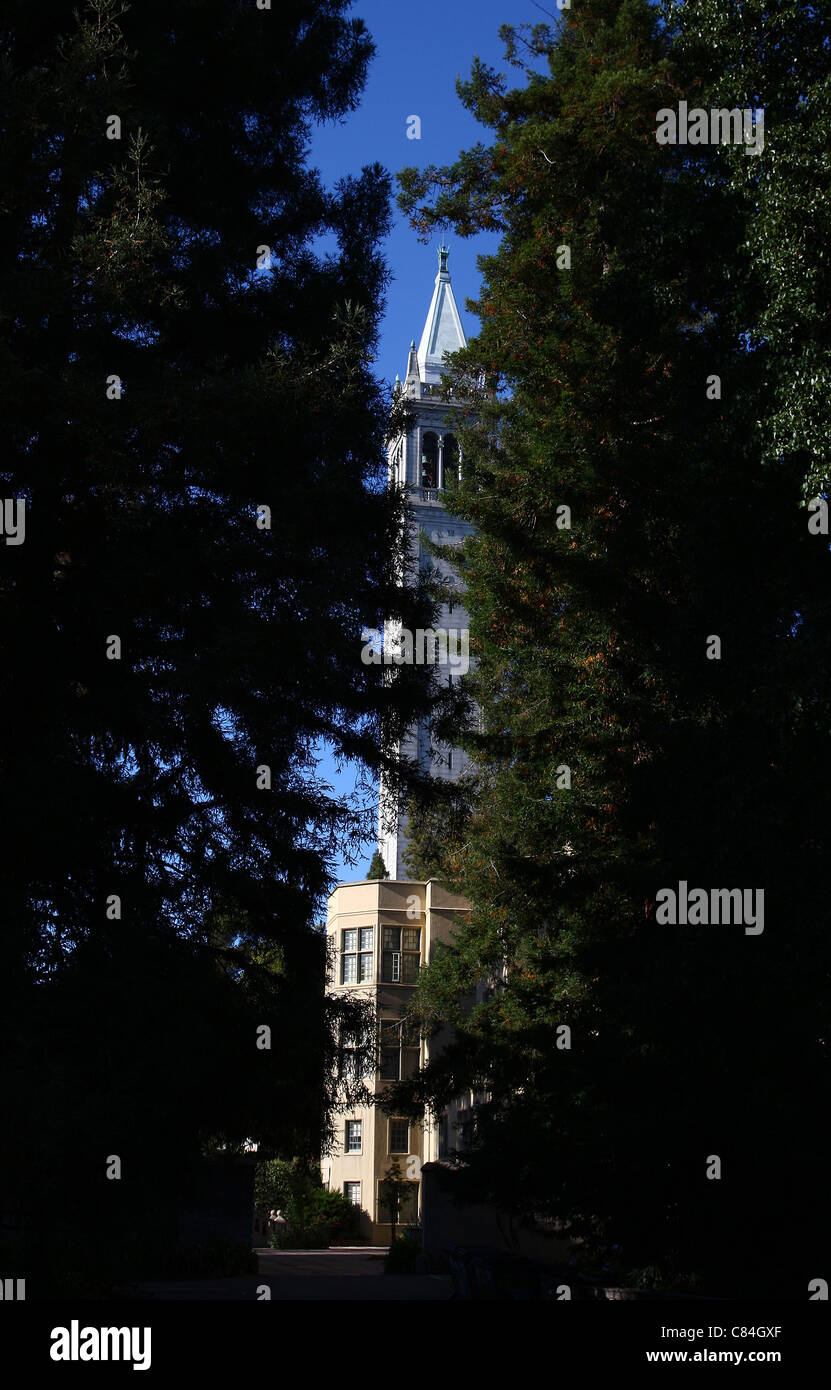 SATHER TOWER BERKELEY UNIVERSITY OF CALIFORNIA BERKELEY CALIFORNIA USA 27 September 2011 - Stock Image