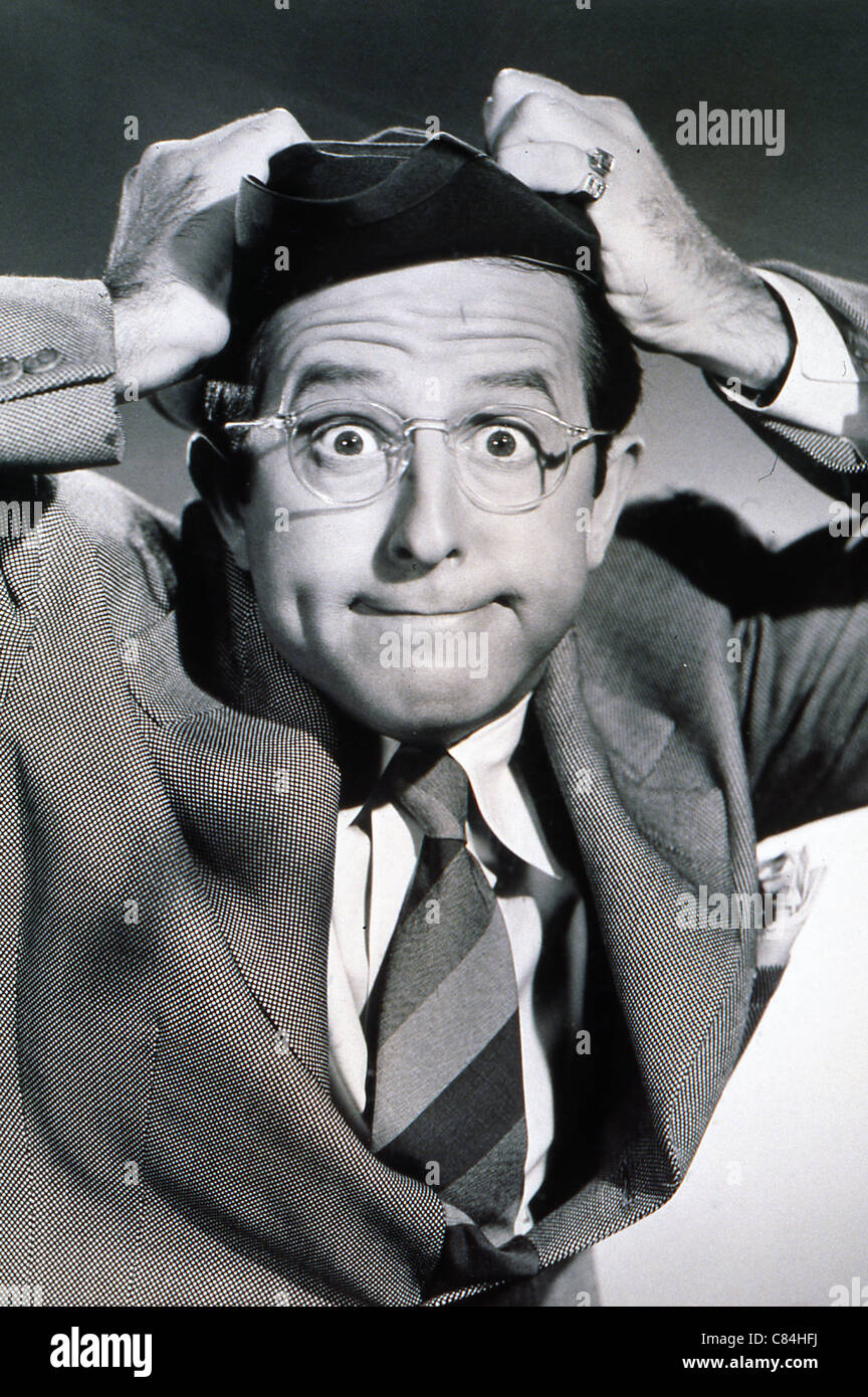 PHIL SILVERS PORTRAIT - Stock Image