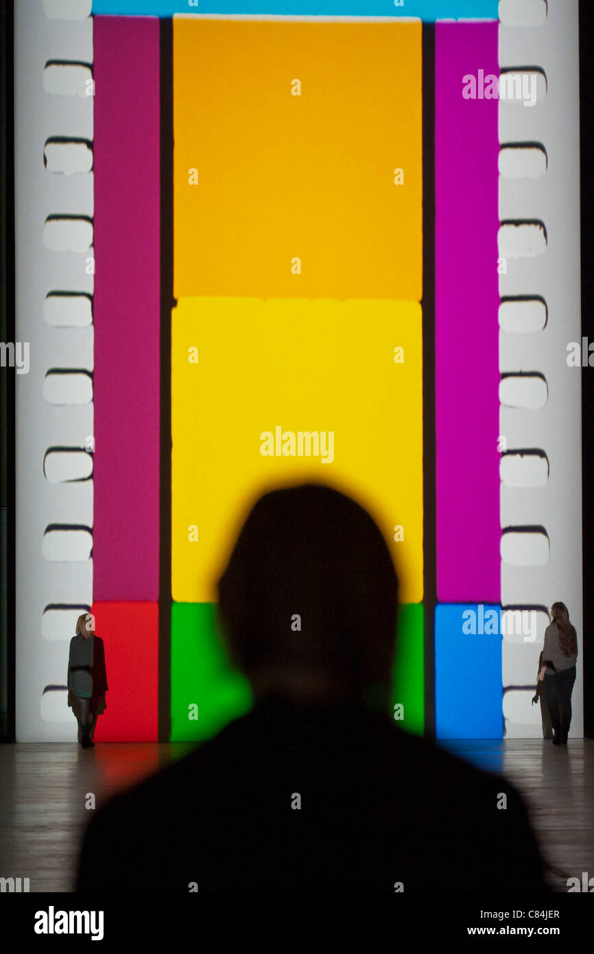 Film by Tacita Dean becomes the twelfth commission in the Unilever Series in the Turbine Hall of the Tate Modern, - Stock Image