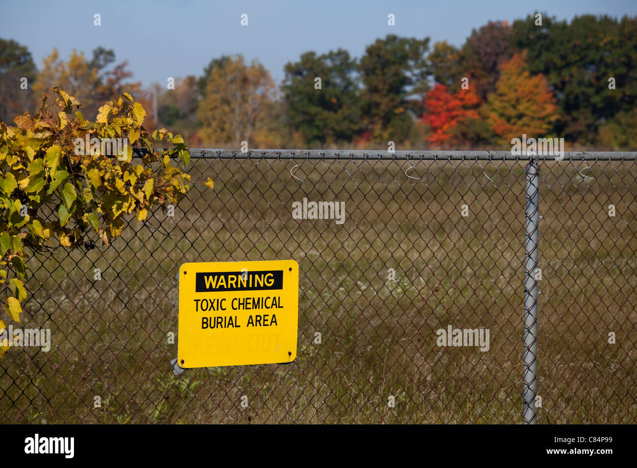 Velsicol Chemical Superfund Toxic Cleanup Site - Stock Image