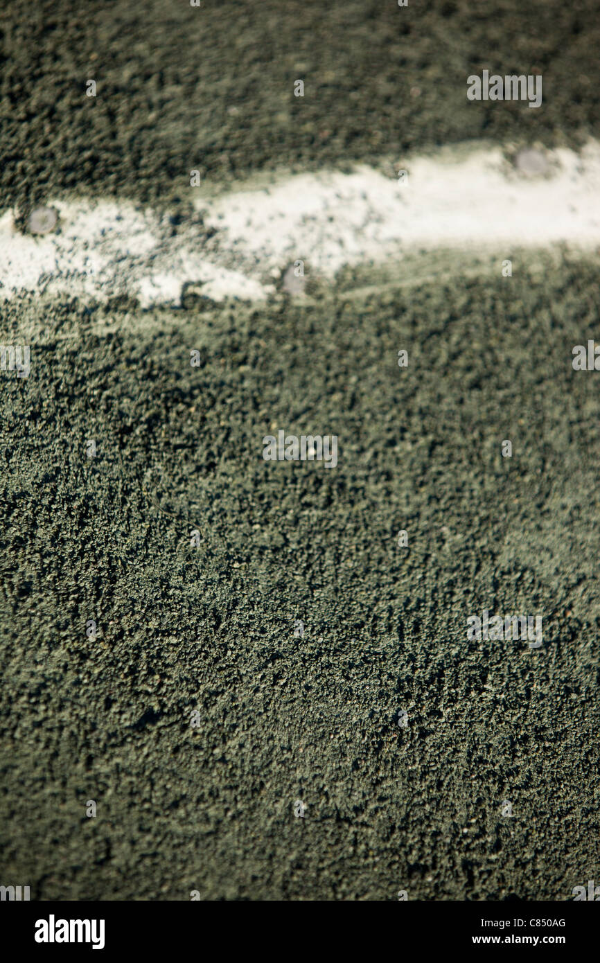 Clay Tennis Court - Stock Image