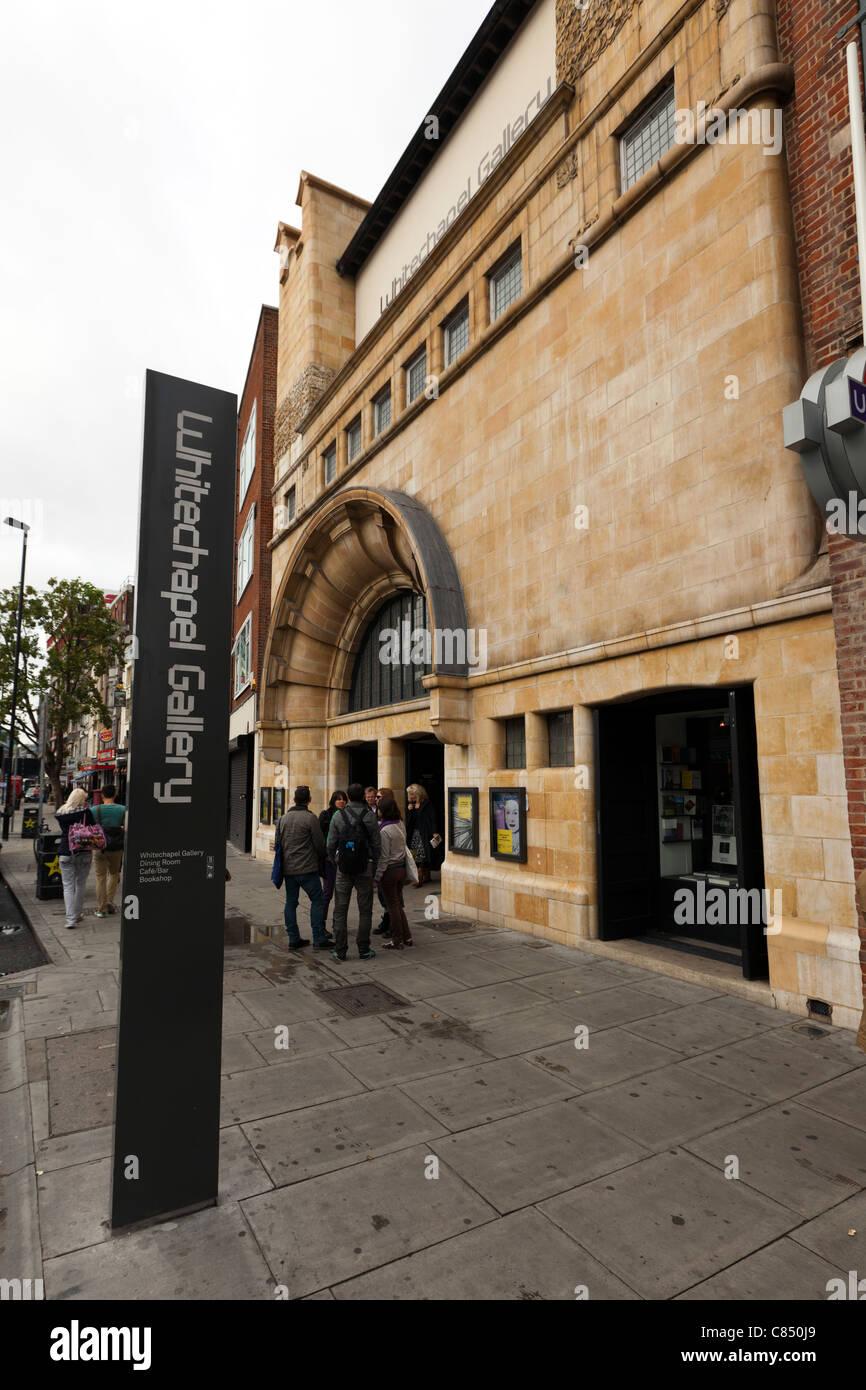 Whitechapel Art Gallery, London, England, UK. Stock Photo
