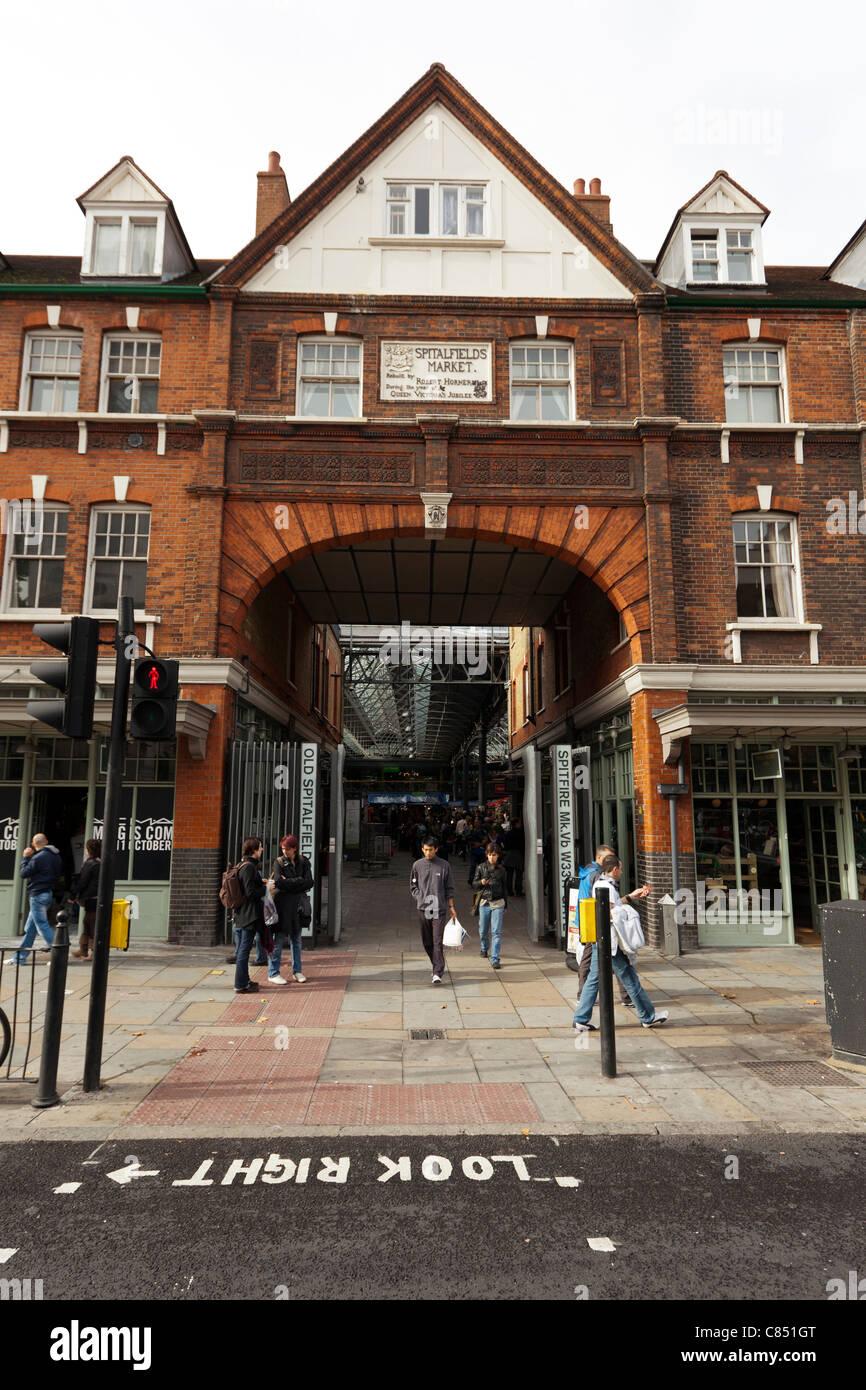 Spitalfields London: Victorian Spitalfields Market Stock Photos & Victorian