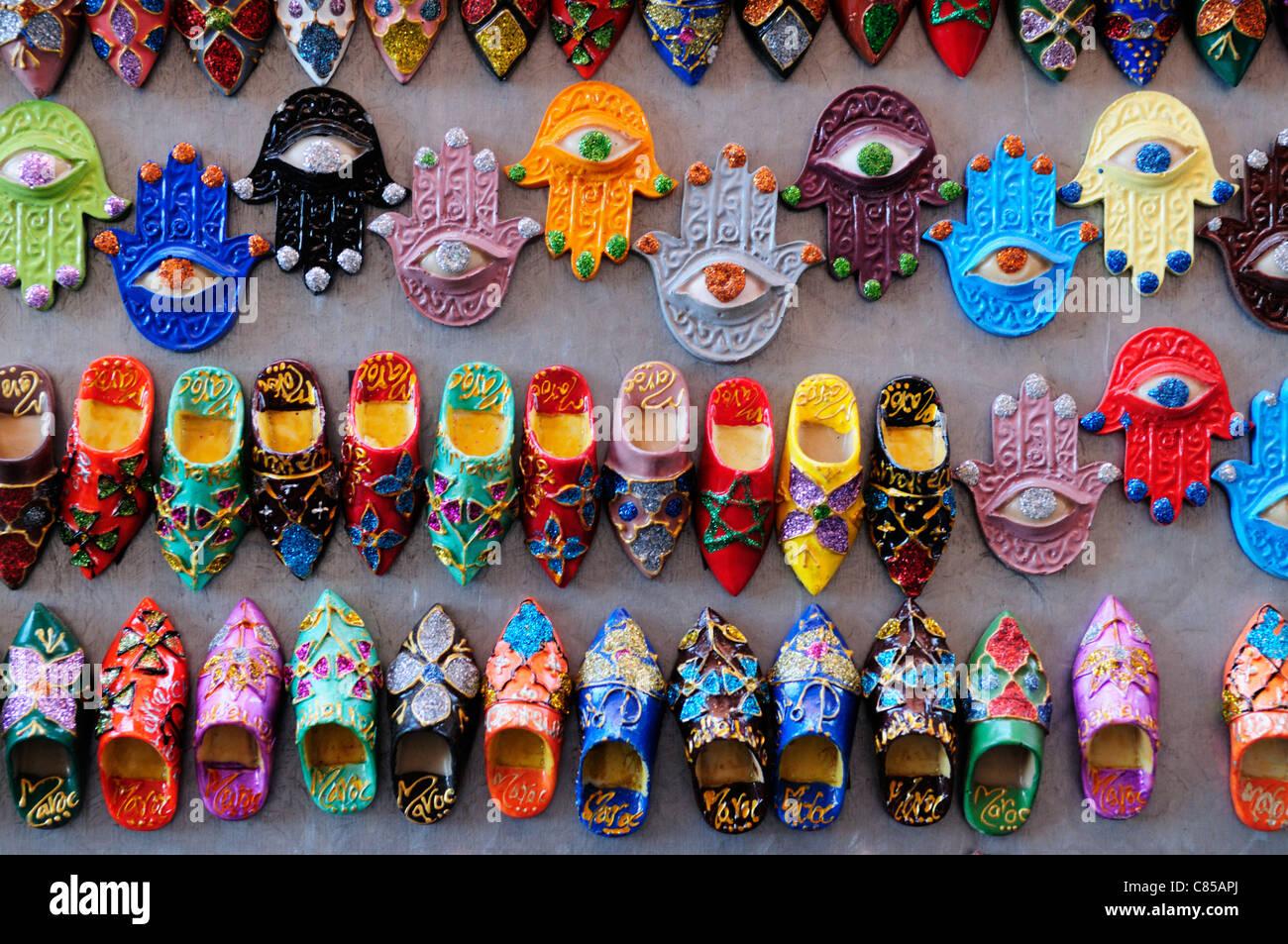 moroccan fridge magnets stock photos moroccan fridge magnets stock