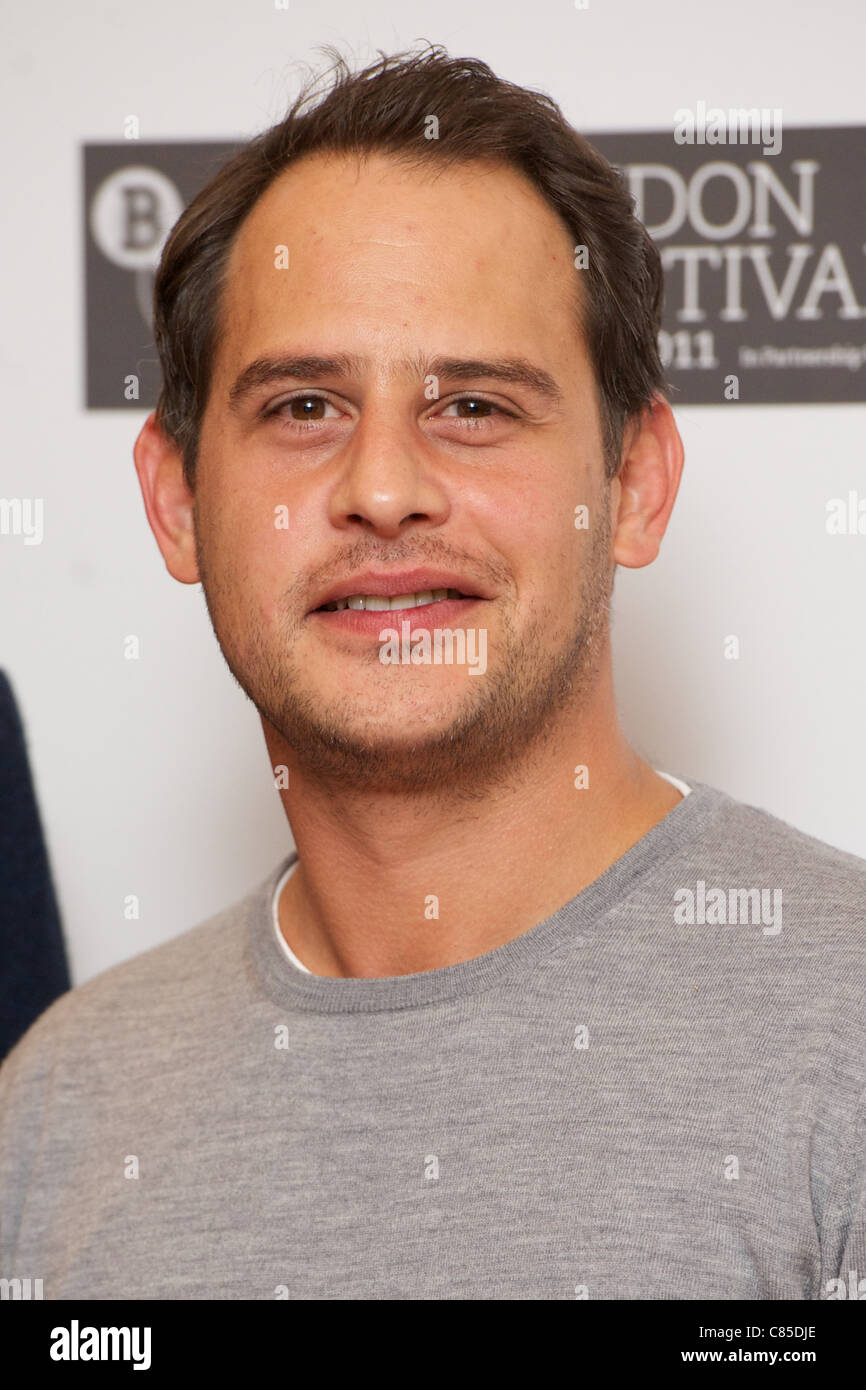 LONDON, UNITED KINGDOM 12 OCTOBER : Pic Shows Moritz Bleibtreu attending the London Film Festival photocall for - Stock Image