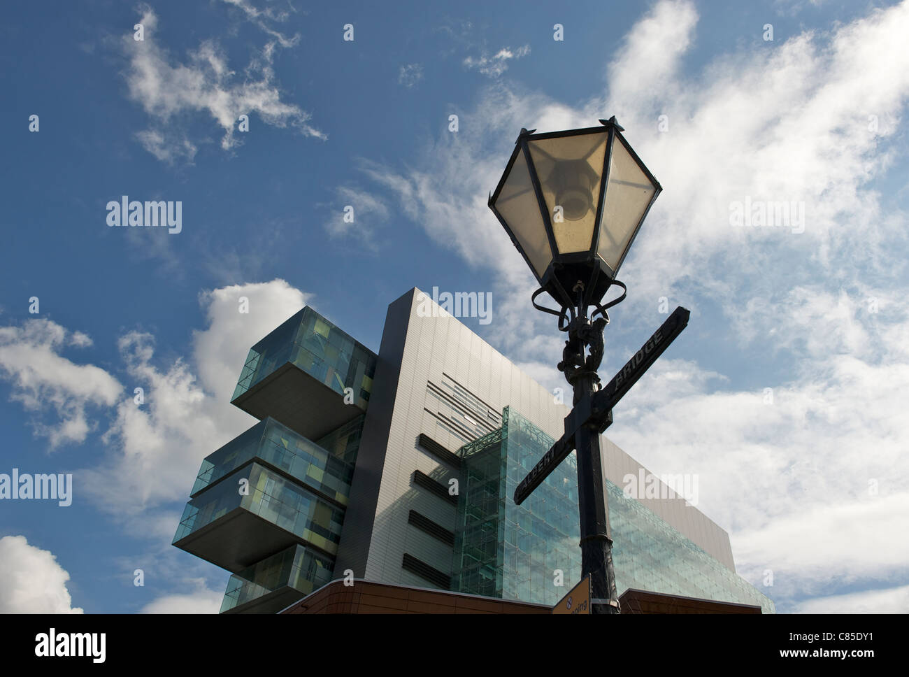 Manchester Civil Justice Centre - Law Courts - Stock Image