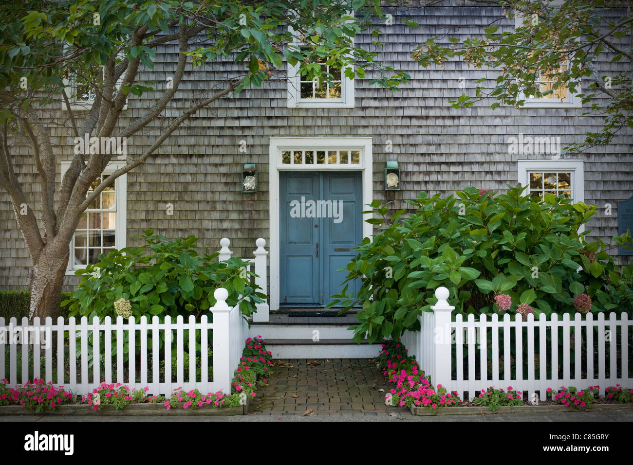 Shaw House, Orient, North Fork, Suffolk County, Long Island, New York State - Stock Image