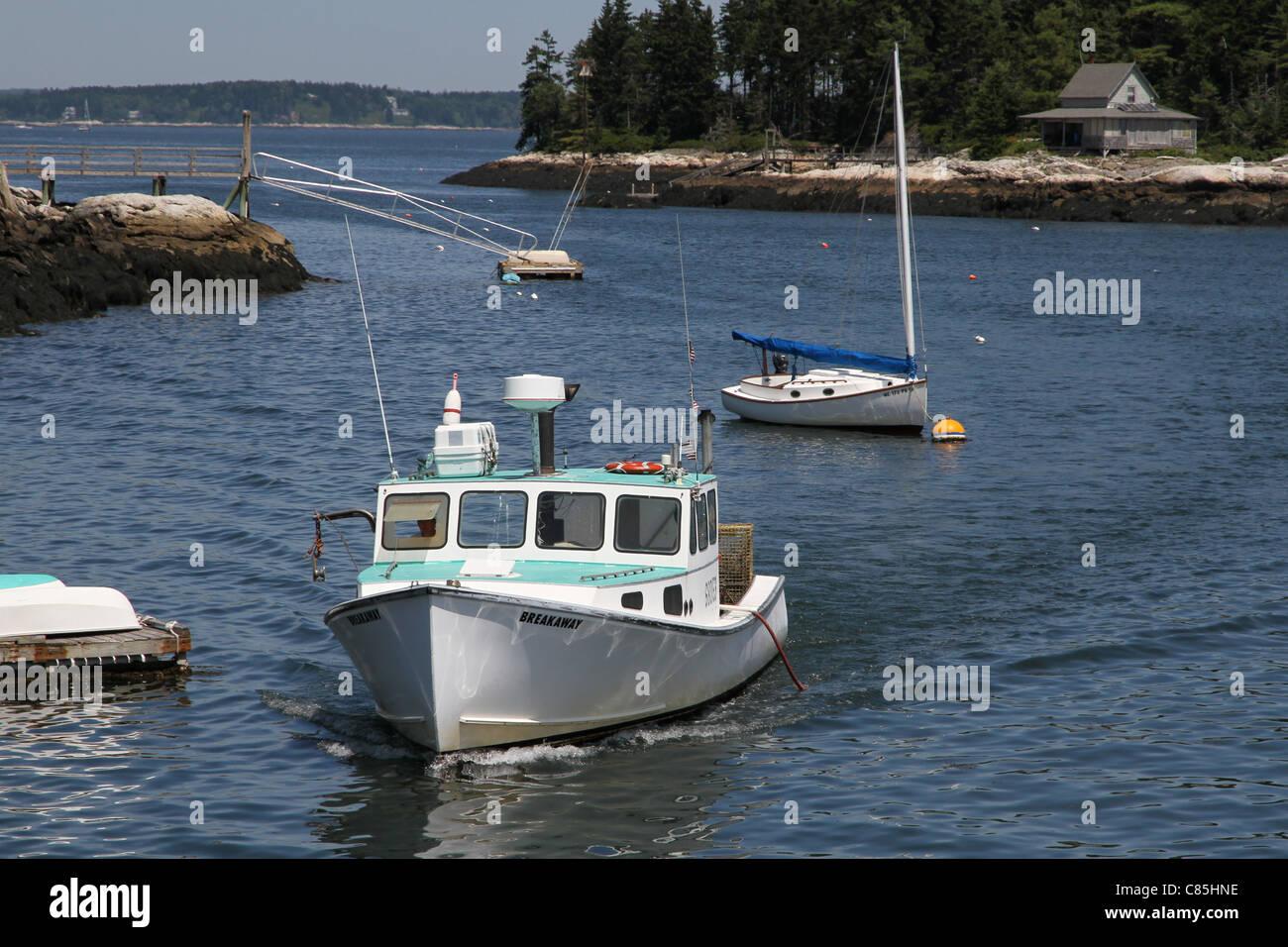 Five Islands Harbor - Stock Image