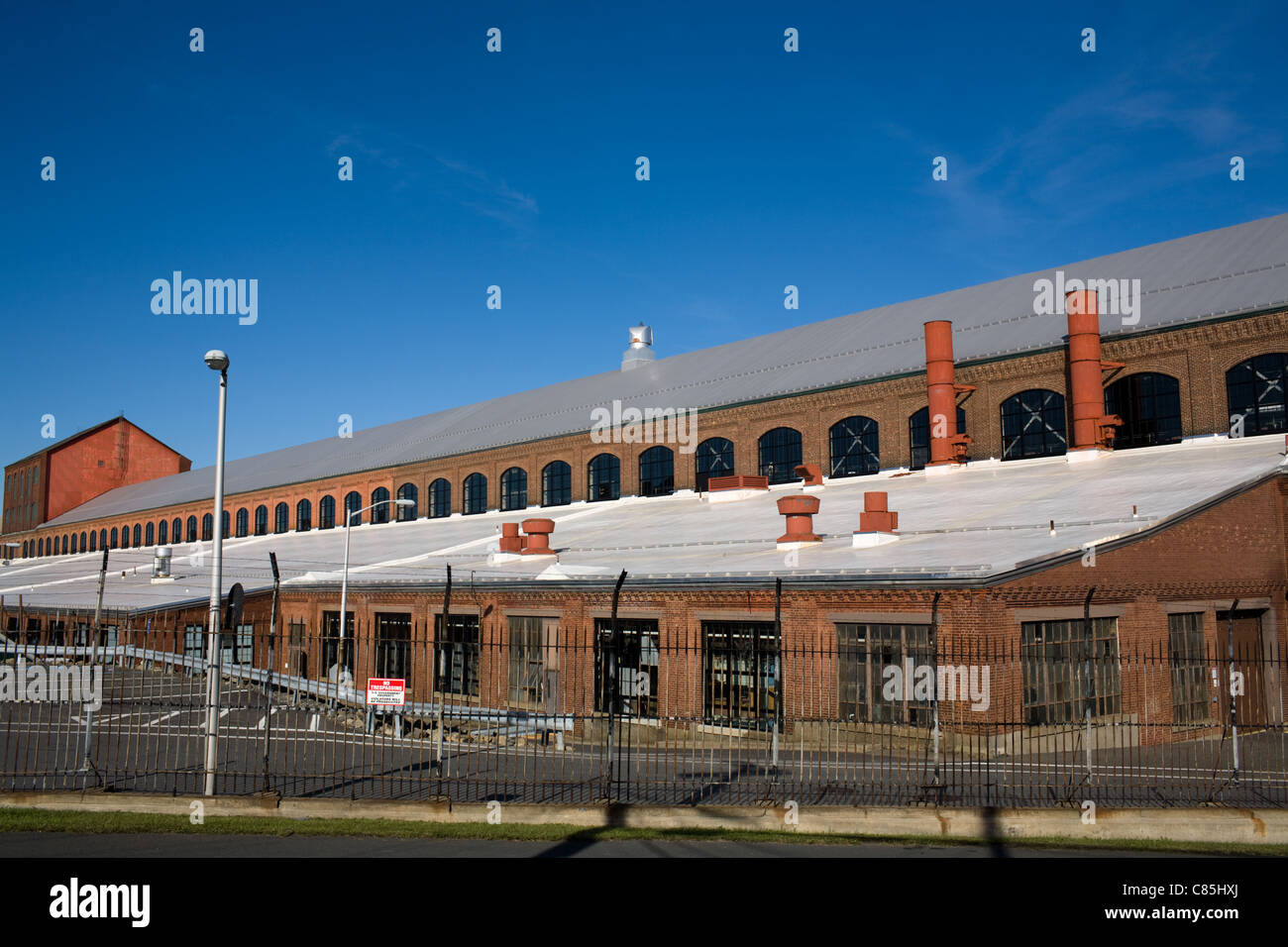 Watervliet Arsenal near Albany, New York State, U.S. Army, oldest continuously operated active arsenal in USA - Stock Image