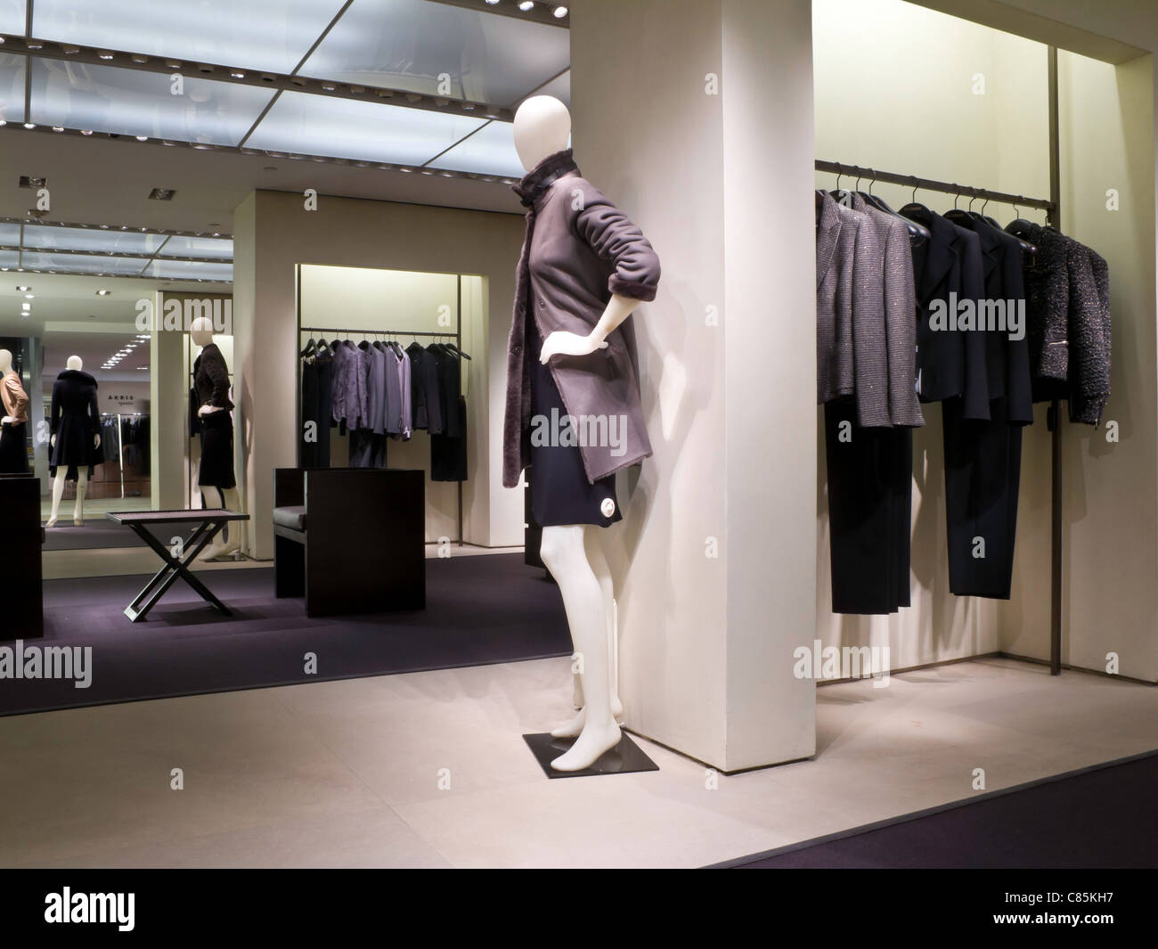 9cfb20d46ea Women's Designer Clothing Display, Bloomingdale's Department Store ...