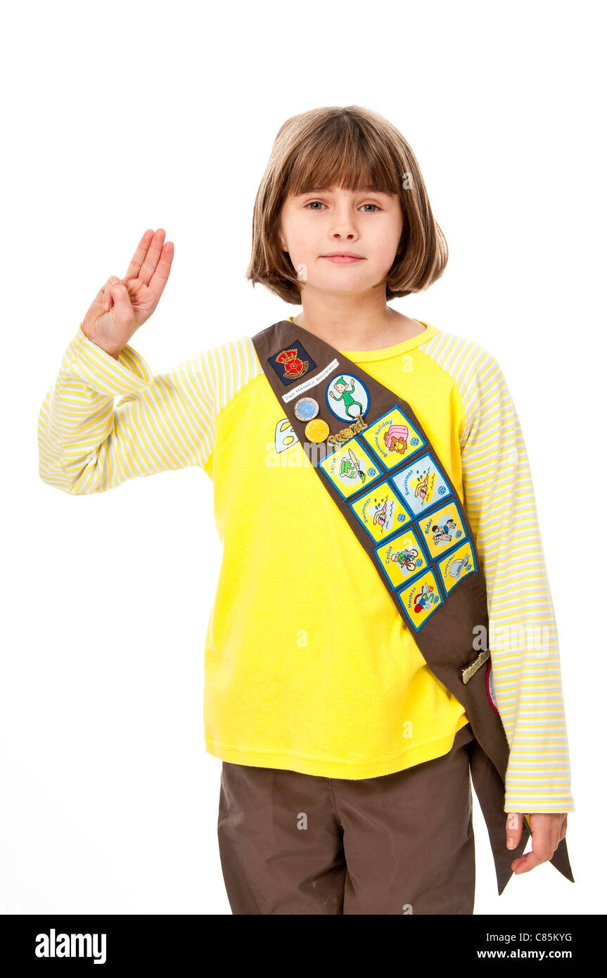 Brownie Sash Badges Stock Photos Brownie Sash Badges Stock Images