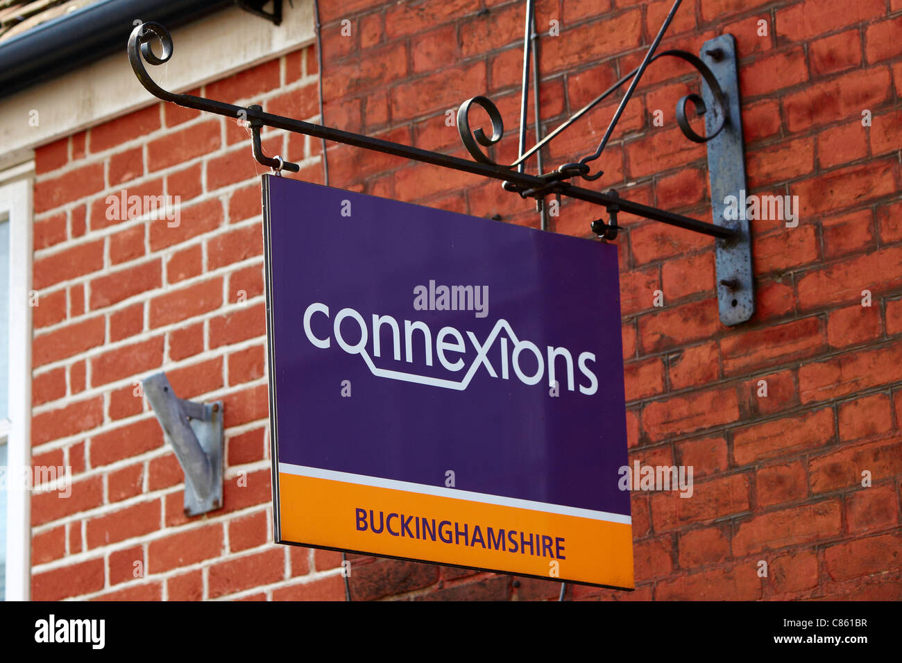 A general view of the Connexions offices in Aylesbury, Buckinghamshire - Stock Image