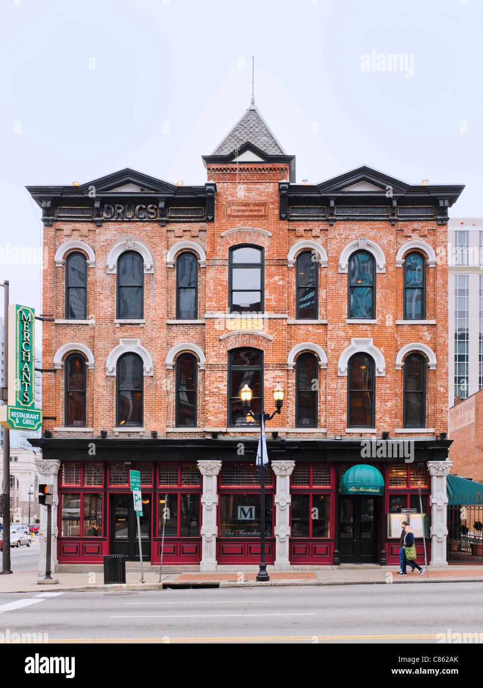 Merchants Restaurant & Grill, Nashville - Stock Image