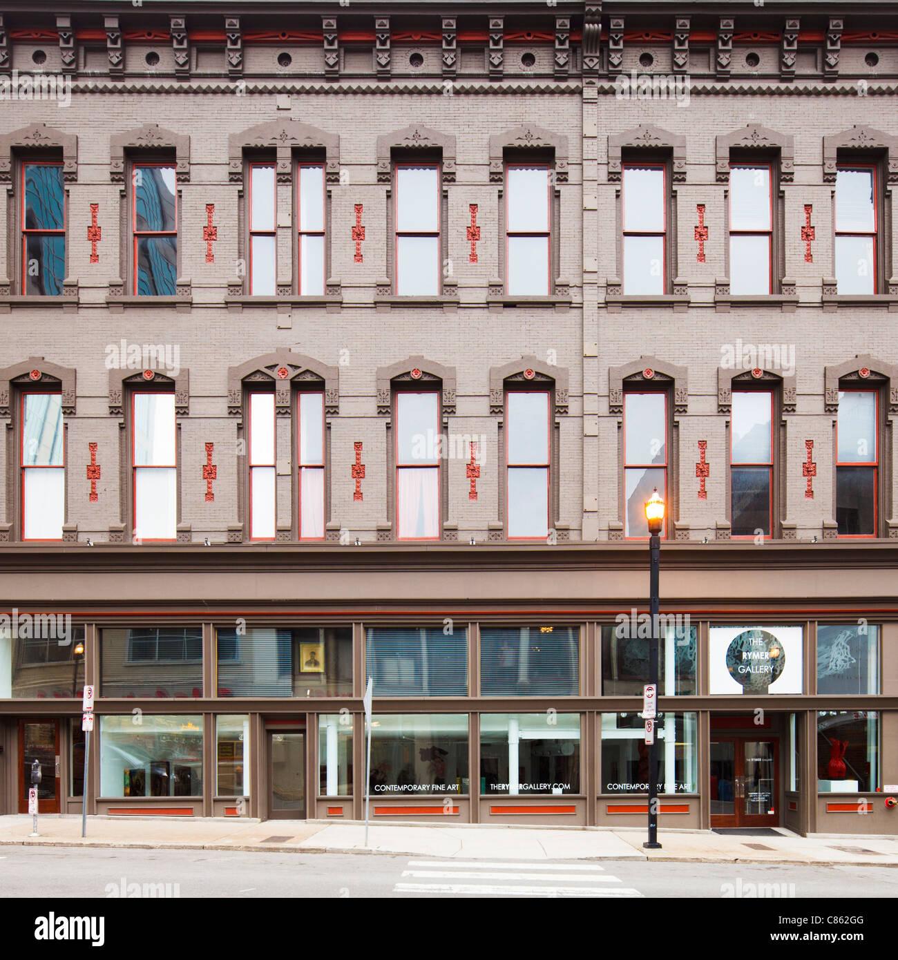 Rymer Gallery Nashville - Stock Image