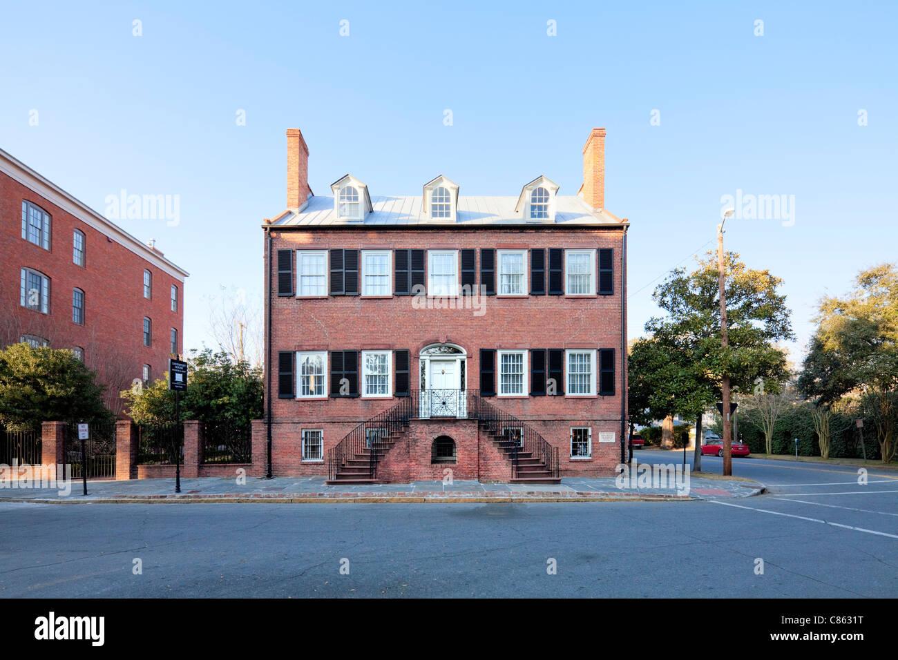 Davenport House, Savannah Stock Photo