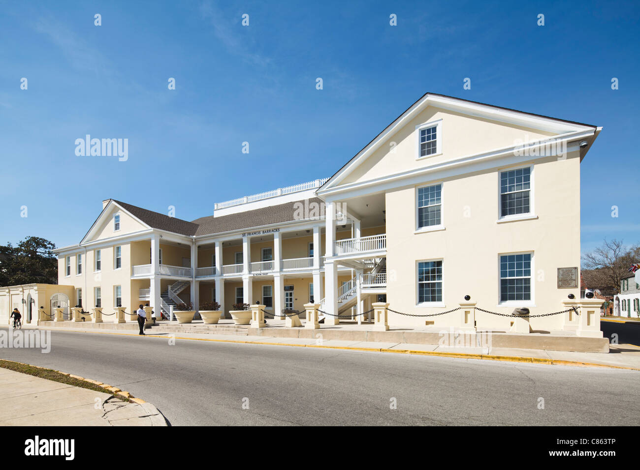 St Francis Barracks, St Augustine - Stock Image