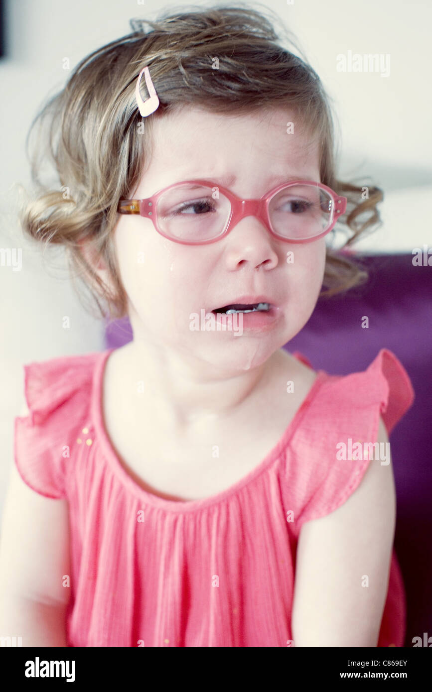 Little Girl Crying Stock Photos & Little Girl Crying Stock ...