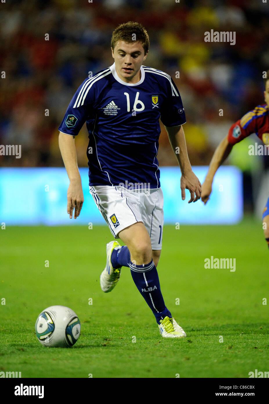 James Forrest of Scotland - Stock Image